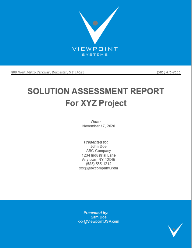 solution-assessment-report